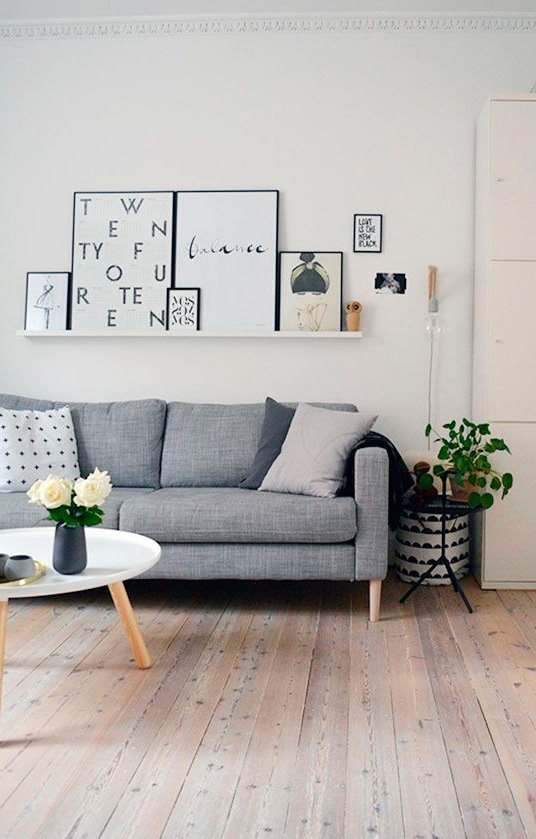 Scandinavian wallpaper for closet decor 2