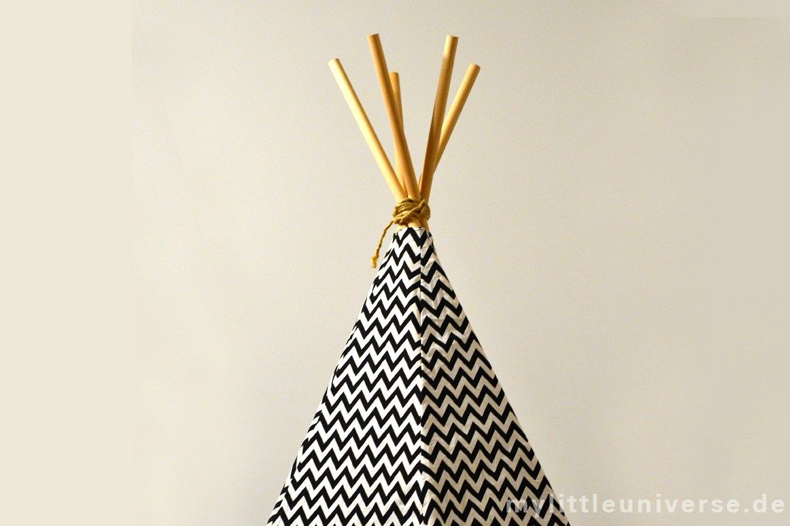 tipi selber bauen n hen n hen tipi selber bauen tipi. Black Bedroom Furniture Sets. Home Design Ideas