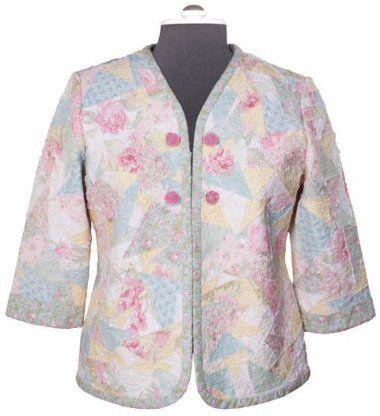 Free Pattern | Quilted Sweatshirt Jacket | Sewing | Pinterest ... : quilted sweatshirt jacket - Adamdwight.com