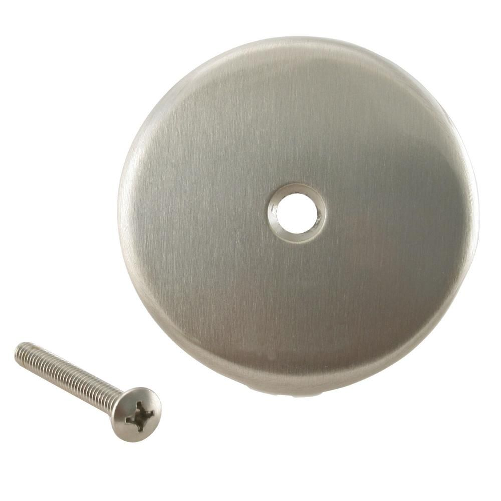 Westbrass 3 1 8 In Single Hole Overflow Face Plate And Screw
