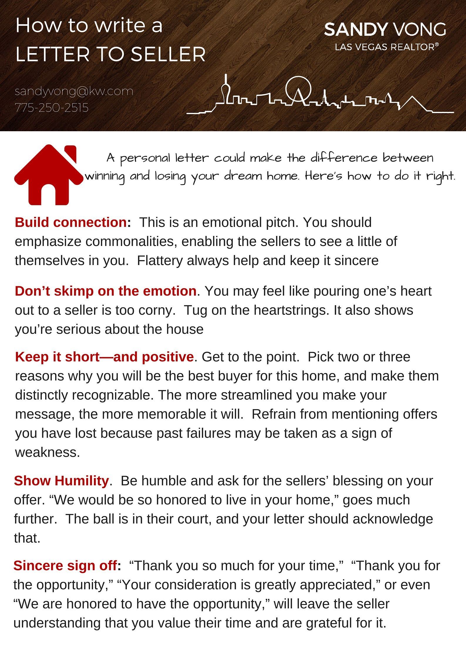 Are You Trying To Buy A Home In A Seller S Market Here Are Some Tips To Help You Write A Letter To The Dear Seller Buying First Home House Letters Lettering