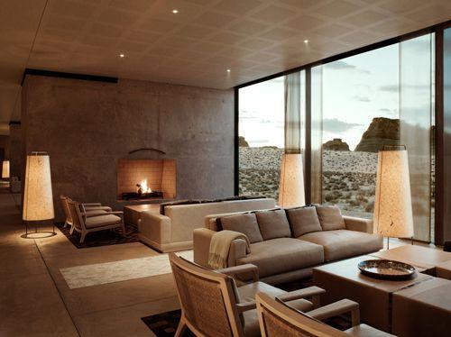 Amangiri resort interiors amangiri resort hotel spa for Design hotel utah