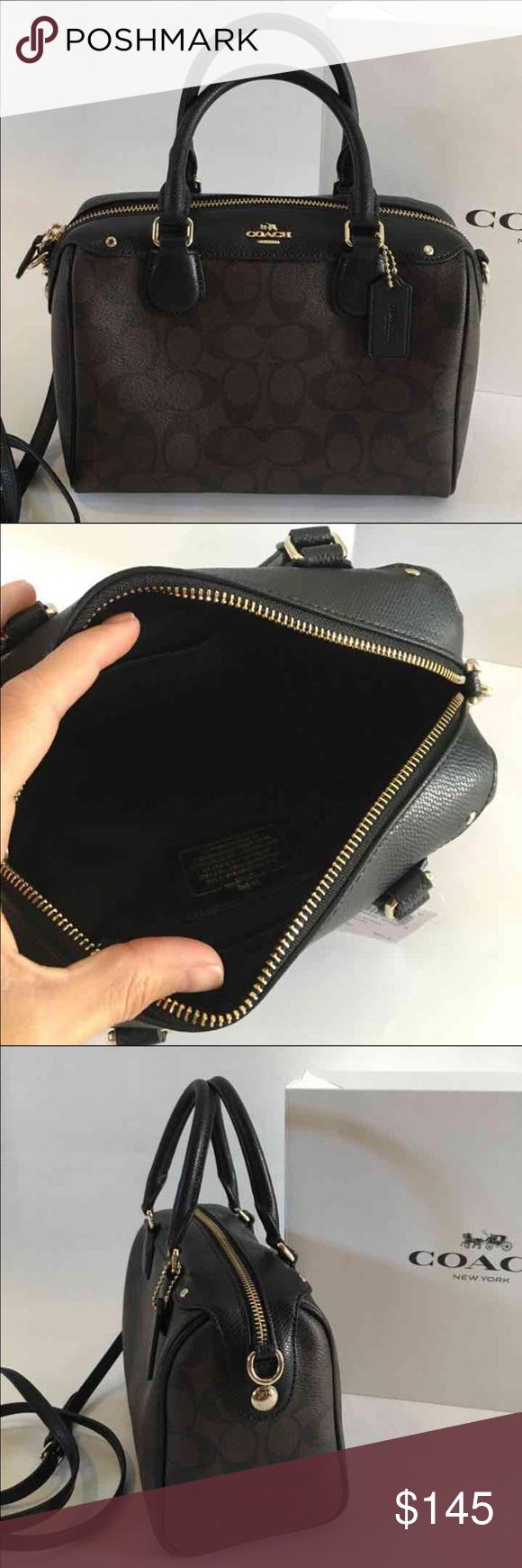 1c4c11e0b741 Coach Mini Bennett Satchel  Crossbody Beautiful brand new authentic Coach  Signature Mini Bennett Small handbag