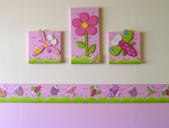Decoracion de cuarto de niñas  Arte Country  Pinterest ...