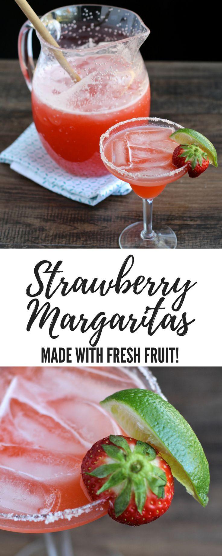 Pitcher strawberry margaritas recipe pitcher margarita