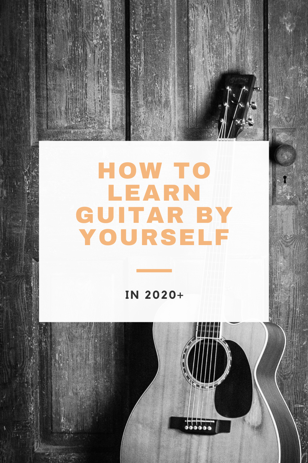 Learn guitar by yourself with this guide! I go over a few strategies that I used to learn guitar, and offer you the resources that helped me!