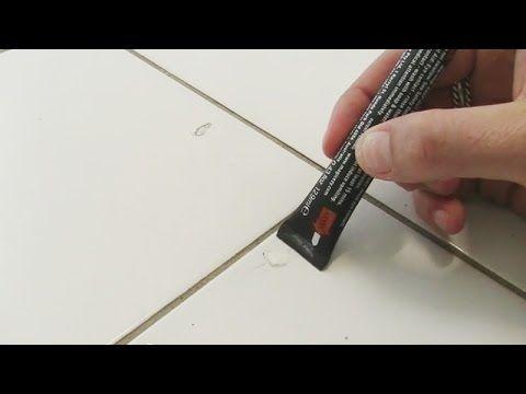 How To Repair Damaged Tiles In Seconds Magicezy 9 Second Chip Fix Tile Repair Cracked Tile Repair Grout Repair