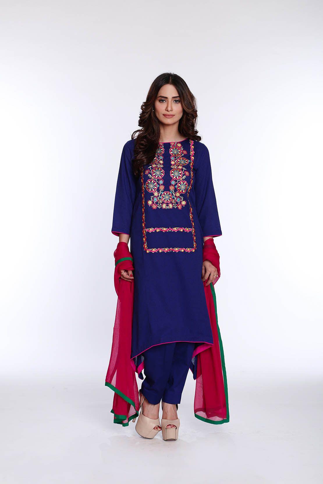 9db0cd5d4b Rang Ja Latest Colorful Kurti Dresses 2019-2020 Eid Collection ...