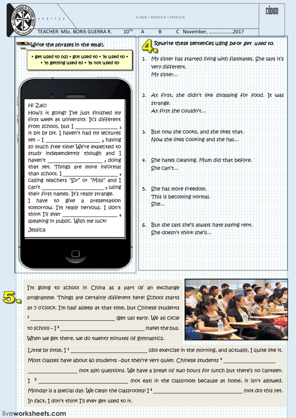 USED TO interactive and downloadable worksheet. You can do ...
