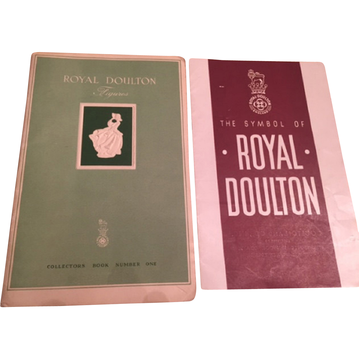 Two rare 1940s royal doulton publications royal doulton two rare 1940s royal doulton publications royal doulton figurines collectors book no 1 the biocorpaavc Gallery