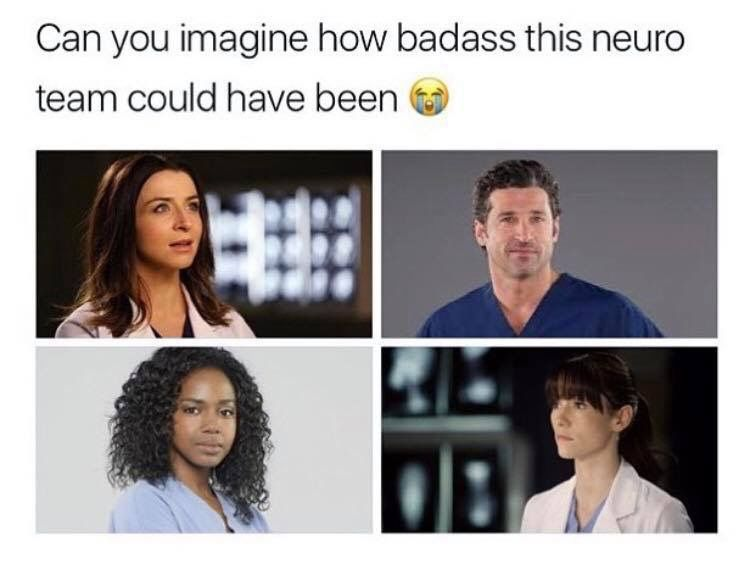 Damnnnn They Would Have Rocked Greys Anatomy Memes Greys