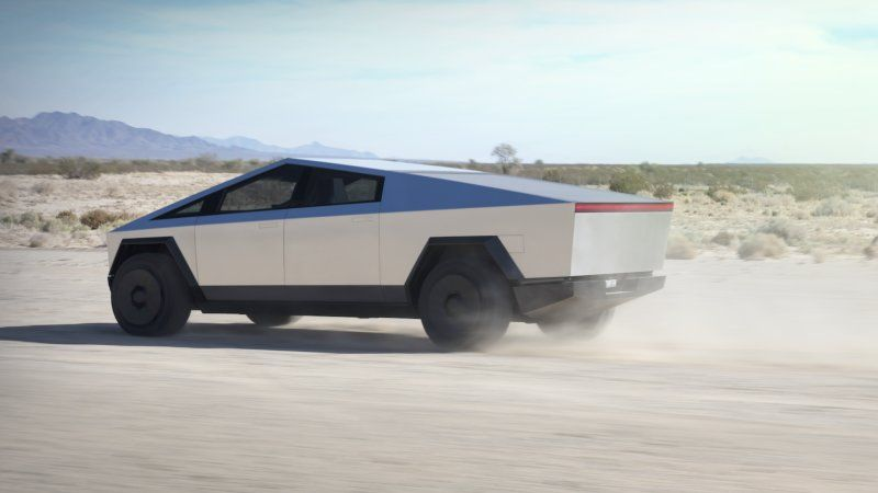 Photo of The Tesla Cybertruck is here, and it's more concept car than production