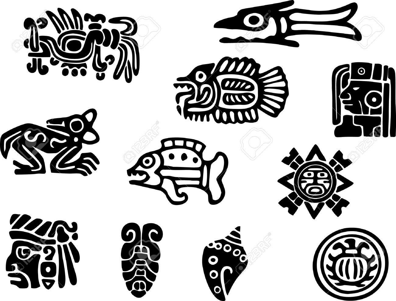 mayan patterns google search spanish crafts. Black Bedroom Furniture Sets. Home Design Ideas