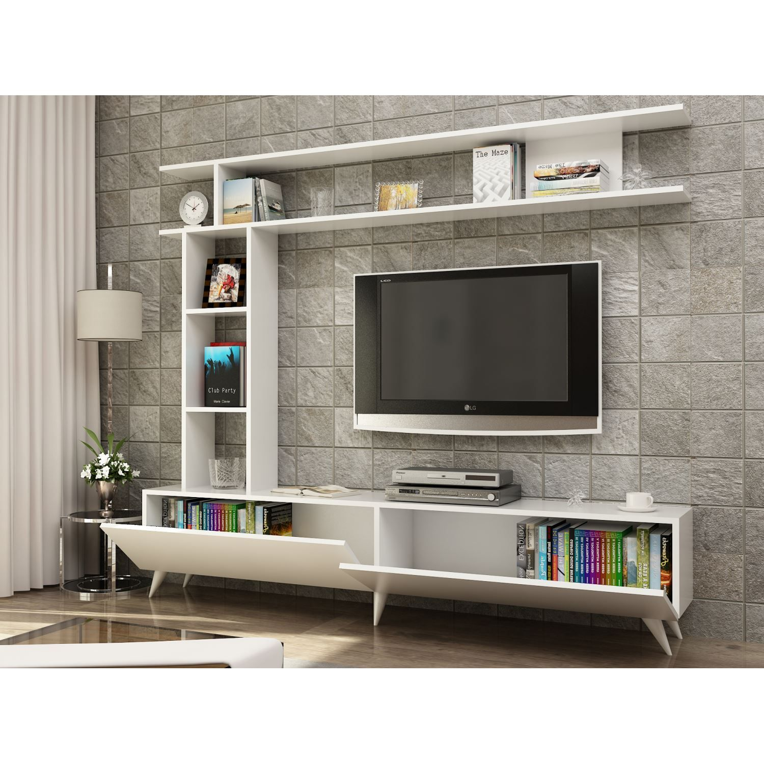 Endizayn Angel Tv Nitesi Ev Dekorasyonu Pinterest Tvs Tv  # Muebles Fiasini