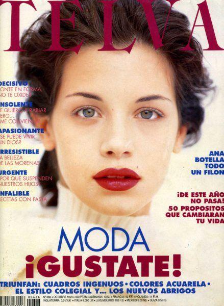 Telva - Supermodelos Argentinas: Paula Colombini
