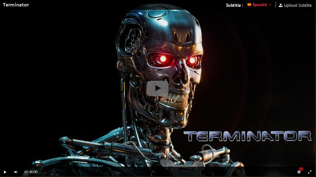 Hd Terminator 1984 Pelicula Completa En Espanol Gratis Terminator Robot Wallpaper Futuristic Robot