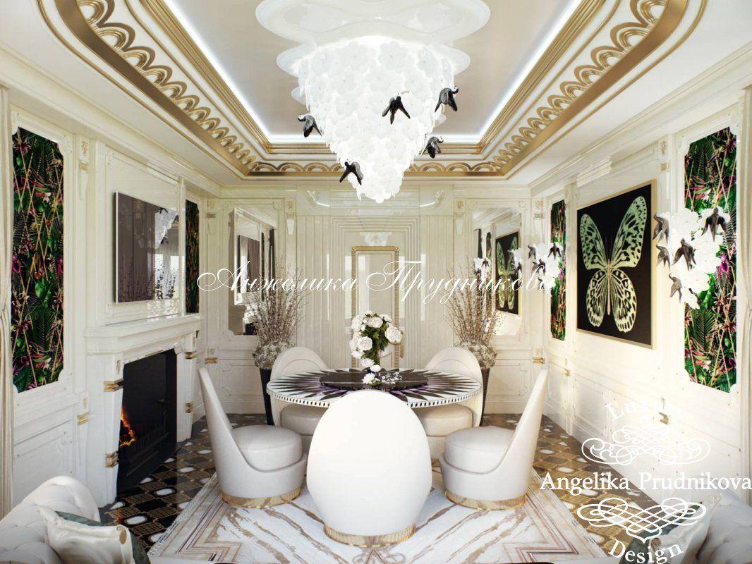 Дизайн квартиры в стиле арт-деко в ЖК «Дирижабль» - фото ...