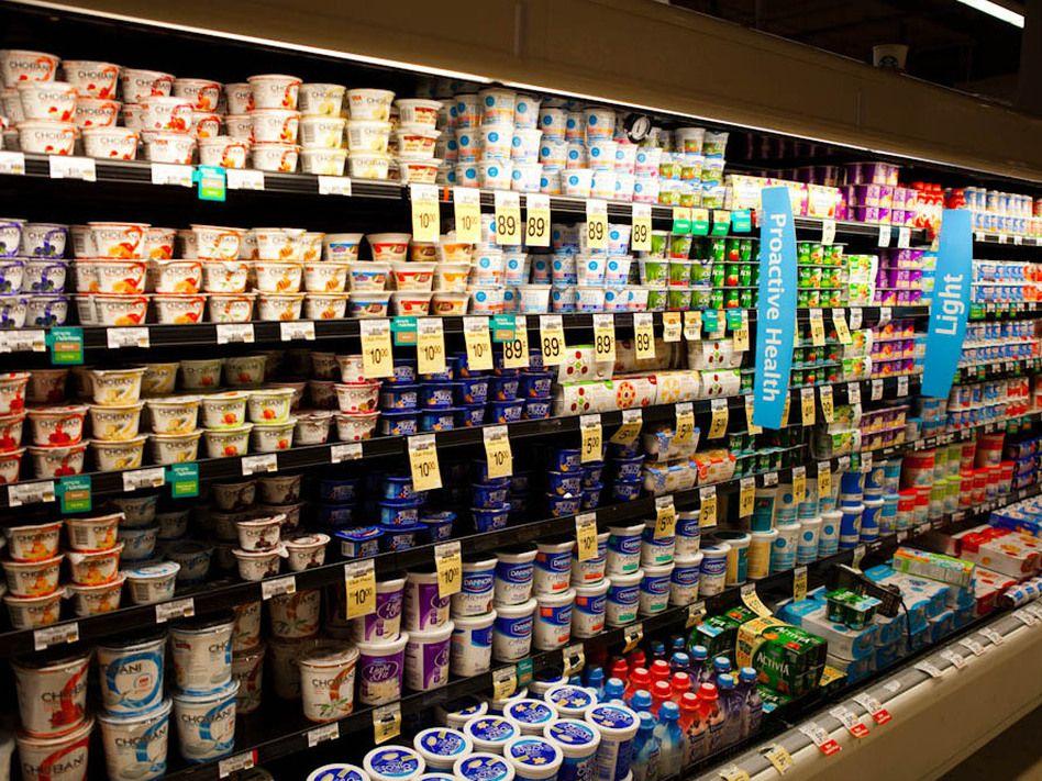 Hightech shortcut to greek yogurt leaves purists fuming