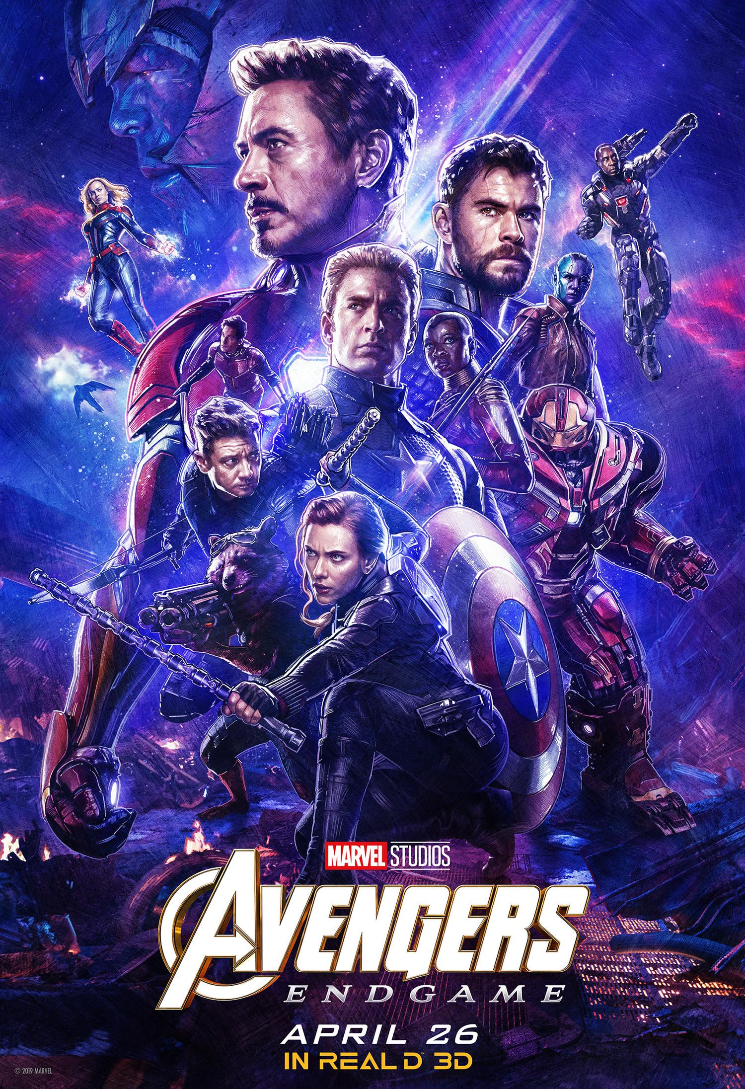 Grab Your Tickets For Marvel Studios Avengers Endgame