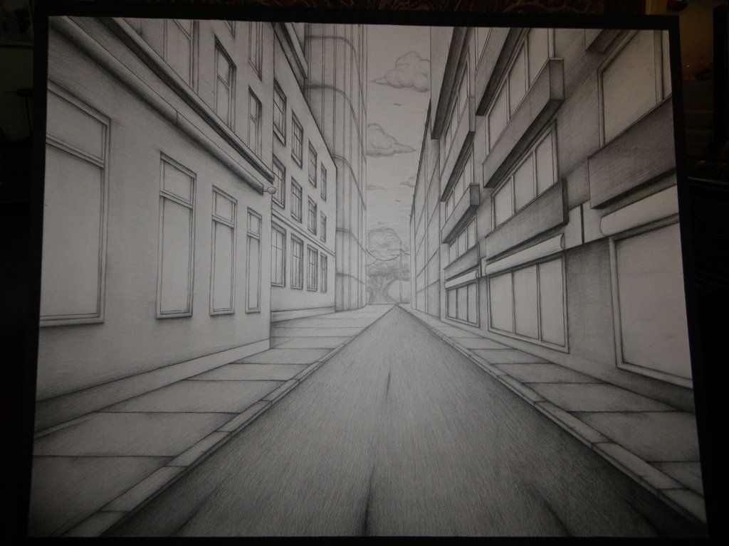 403 Forbidden One Point Perspective Point Perspective Perspective Sketch
