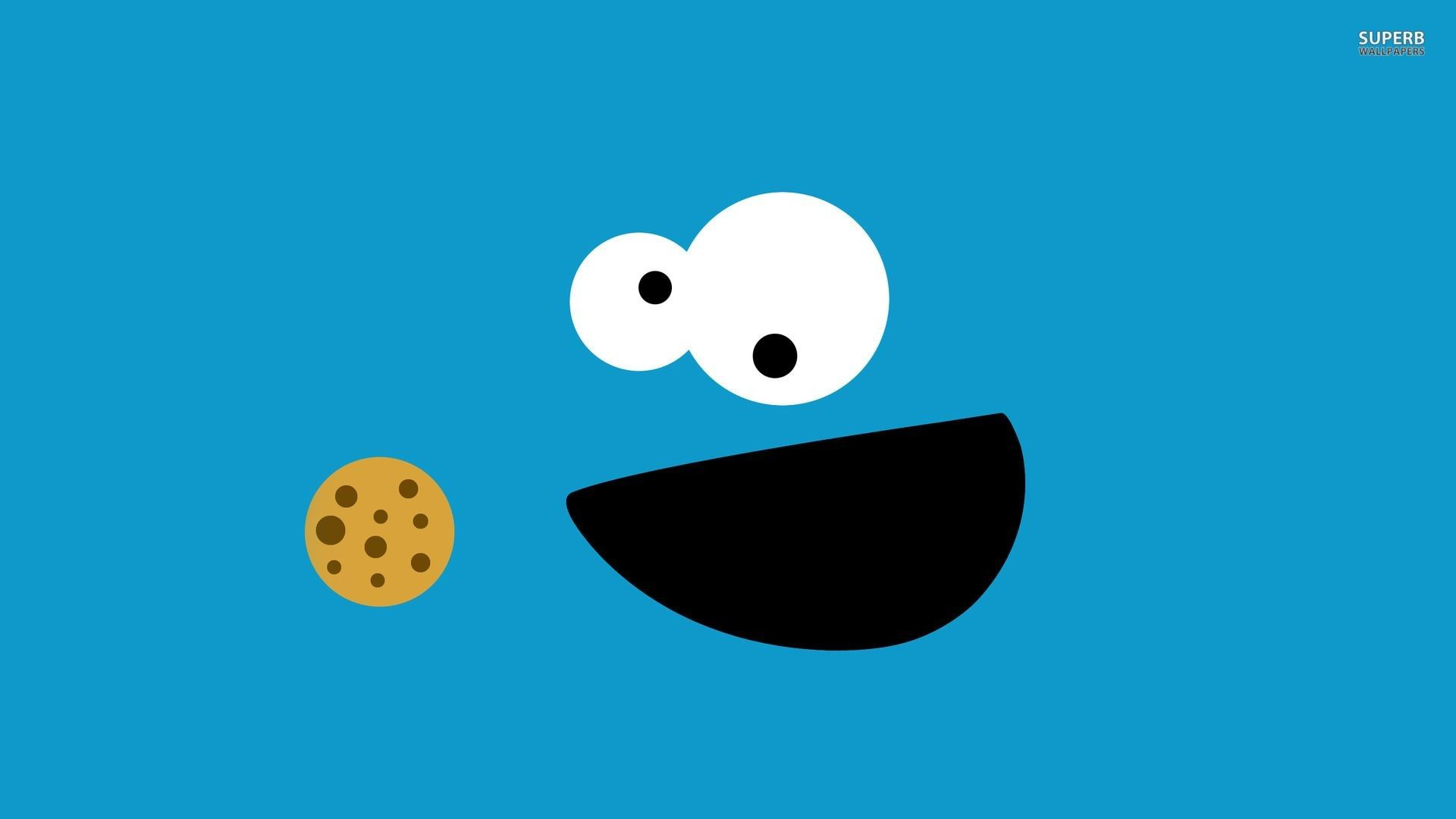 Lovely The Cookie Monster Wallpaper Di 2020