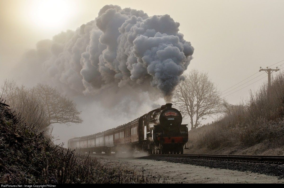 LMS Hughes Crab restored to steam by the East Lancashire Railway ...