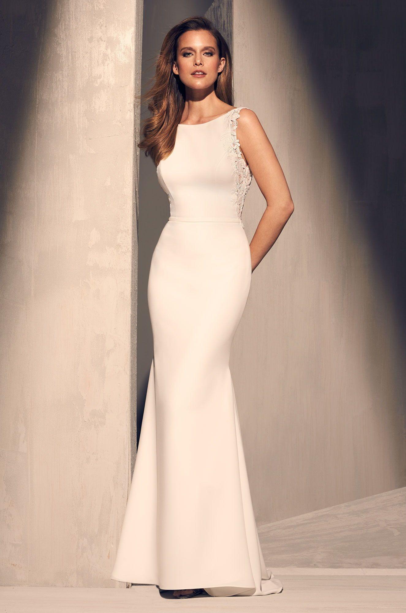 Mikaella Bridal Designer Wedding Dresses Made With Love In Canada Wedding Dress Necklines Mikaella Bridal Wedding Dresses Simple [ 2000 x 1325 Pixel ]