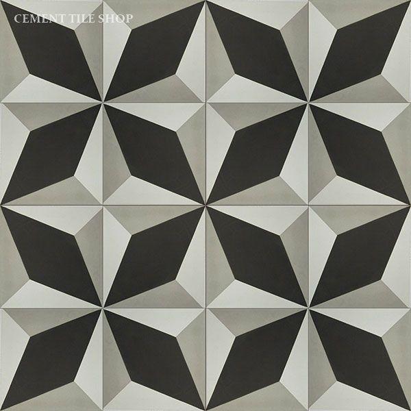 Cement Tile Shop - Handmade Cement Tile | Grand Harlequin