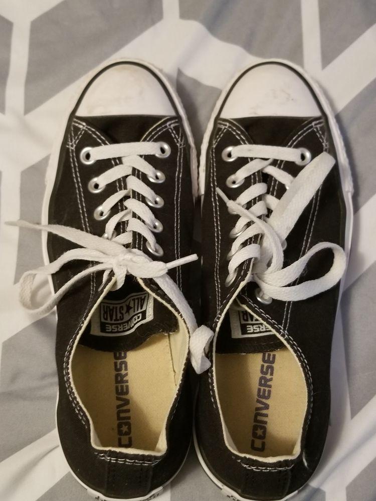 e68ccef3a540a Womens black converse size 6 #fashion #clothing #shoes #accessories ...