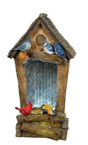 Special Offers - BECKETT CORPORATION 7222910 Birdhouse Fountain 27-Inch - In stock & Free Shipping. You can save more money! Check It (July 23 2016 at 12:29PM) >> http://birdhouseusa.net/beckett-corporation-7222910-birdhouse-fountain-27-inch/