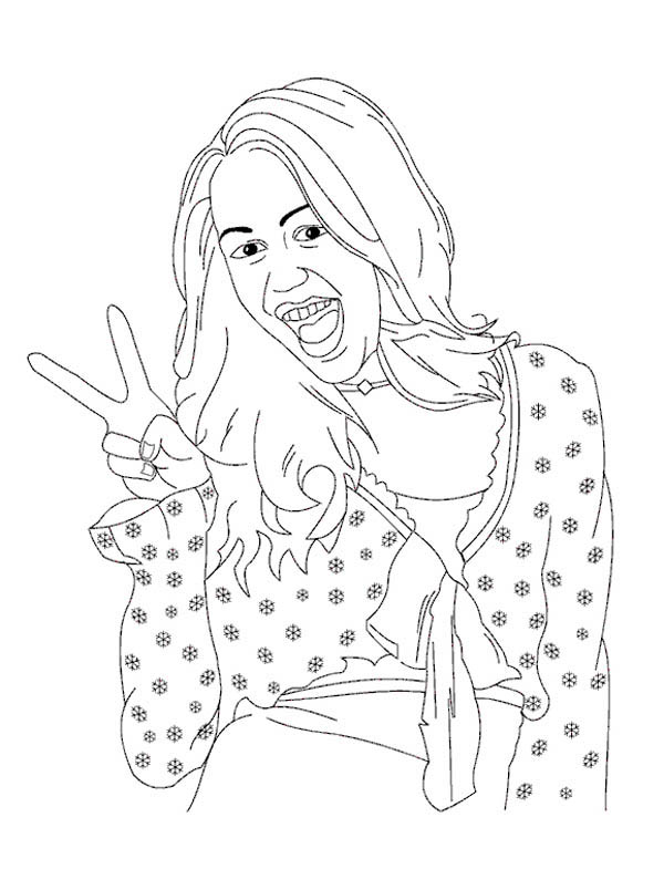 5 Best Hannah Montana Coloring Pages for Kids - Updated 2018   804x600
