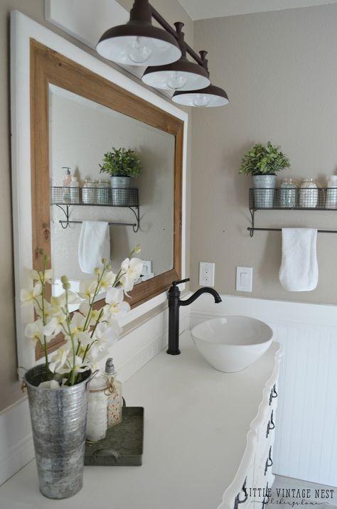 Popular Farmhouse Vanity Light Fixture And Farmhouse Bathroom Light Fixtures