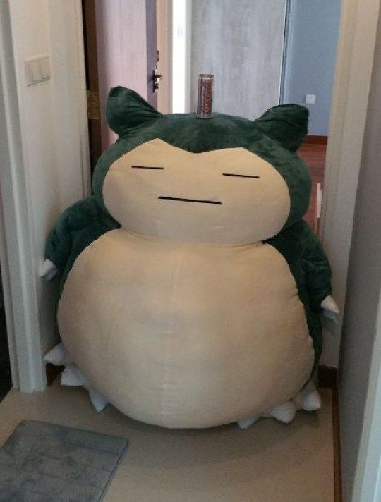 Man Accidentally Buys Three Giant Snorlax Plushies In 2020 Plushies Kawaii Plushies Kawaii Plush