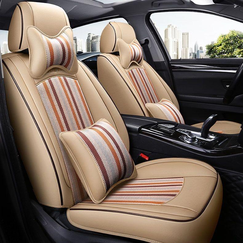 custom car seat cover leather for auto Kia Niro Borrego
