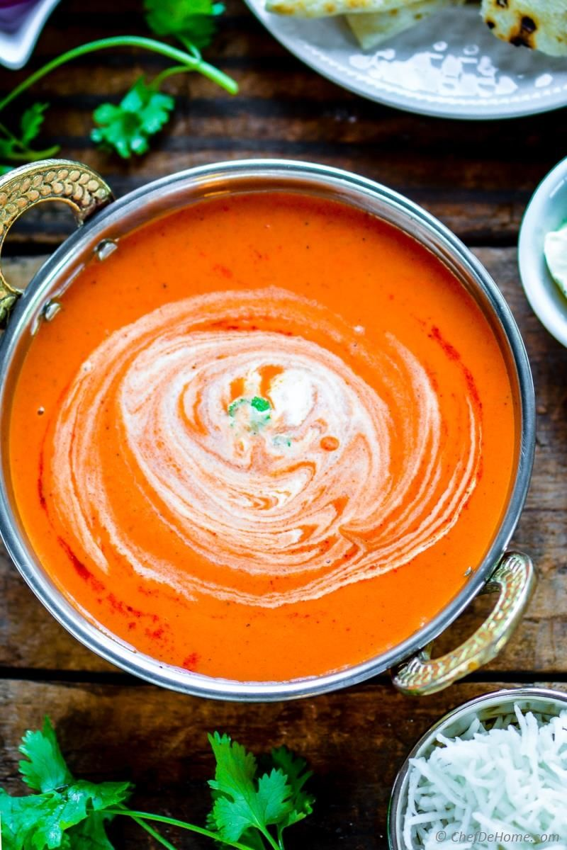 Easy Indian Tikka Masala Sauce Recipe | ChefDeHome.com | 1 11 indian ...