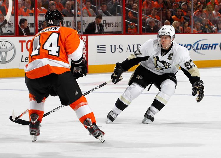 Sidney Crosby January 19 Pittsburgh Penguins vs. Philadelphia Flyers