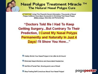 Nice Nasal Polyps Treatment Miracle™ - The Natural Nasal Polyps Cure  Nasal Polyps Treatment Miracle™ - The Natural Nasal Polyps Cure       http://www.nasalpolypstreatmentmiracle.com review Top Nasal Polyps Guide! ... http://showbizlikes.com/nasal-polyps-treatment-miracle-the-natural-nasal-polyps-cure-2/