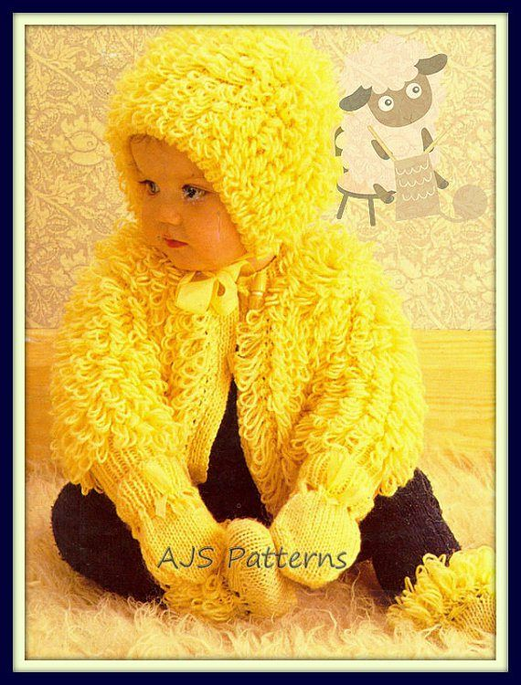 982d2f7d14fb Free Baby and Toddler Sweater Knitting Patterns