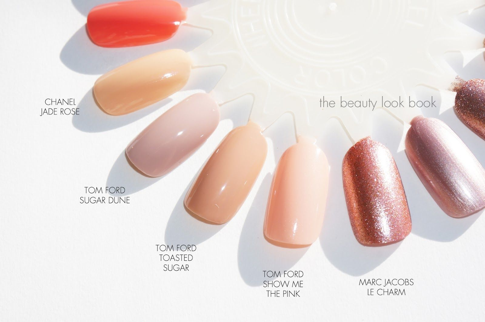 The Beauty Look Book: Tom Ford Spring Nail Polish Comparisons to ...