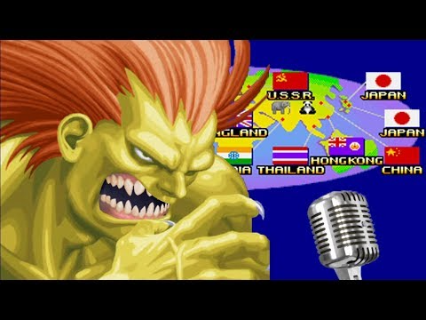 So I Remade All The Street Fighter Ii Endings With Parody Voice