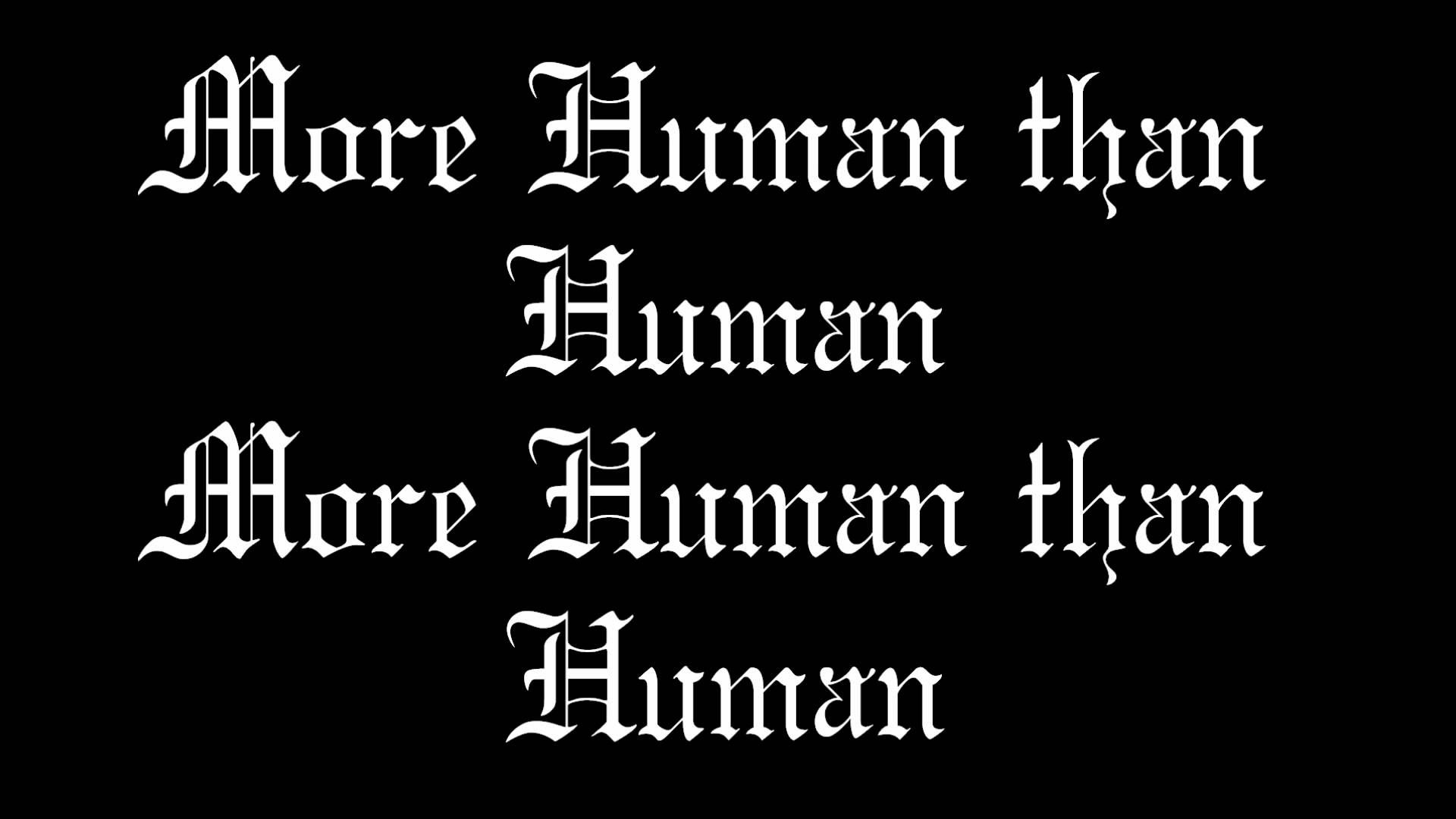 White Zombie-More Human than Human w/ Lyrics