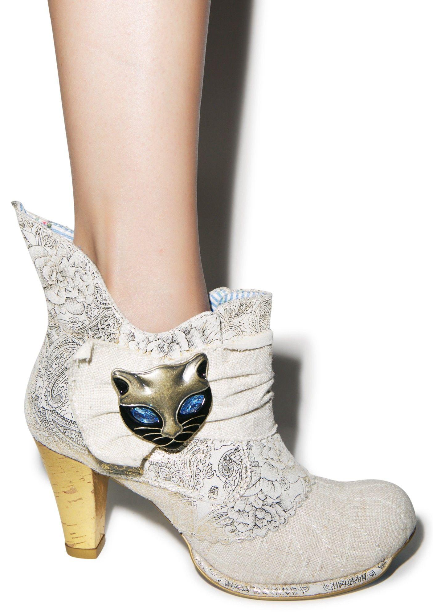 Irregular choice meow boots