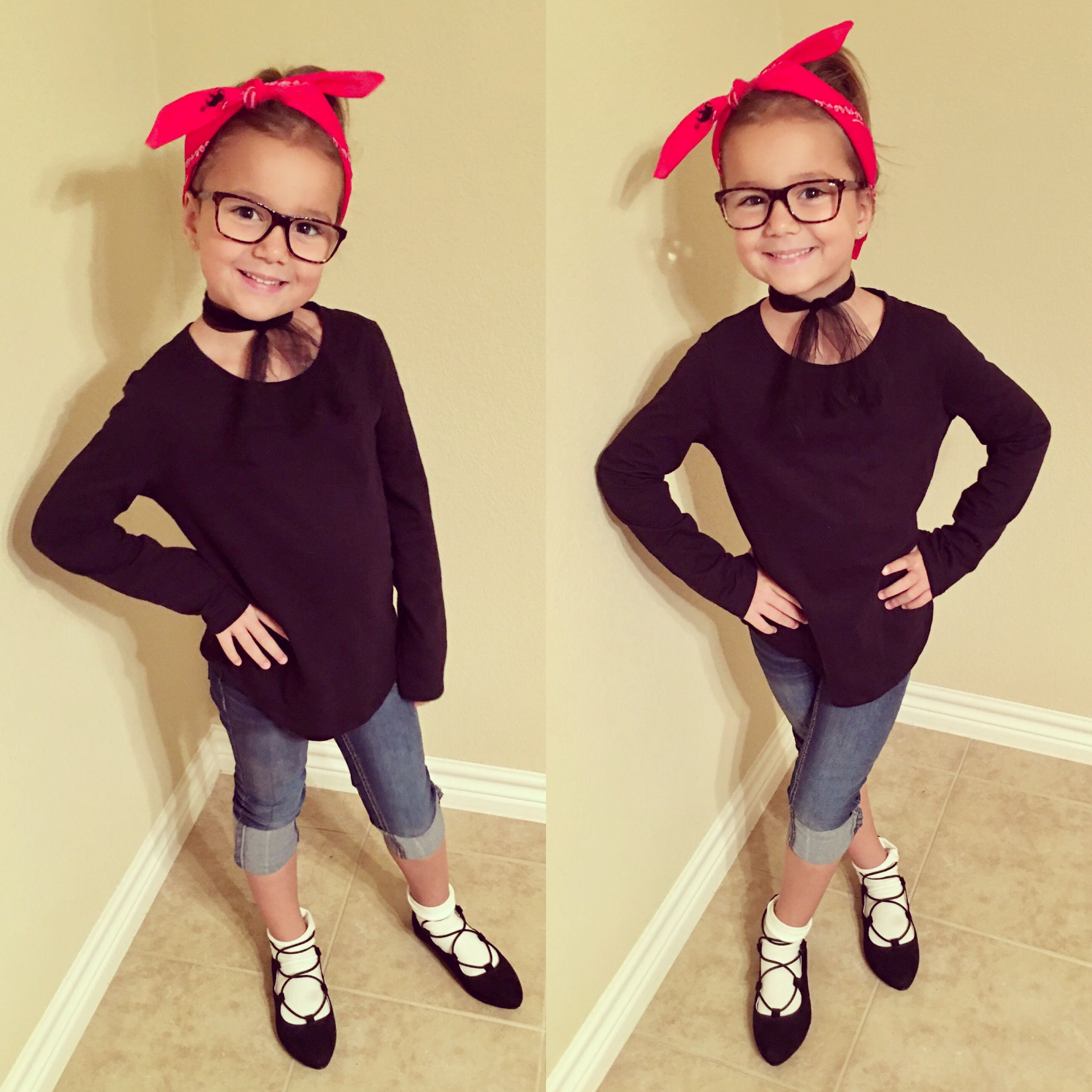 16b2c0318ab8 50s day at school | Aubrey's School Outfits✏ in 2019 | Kids 50s ...