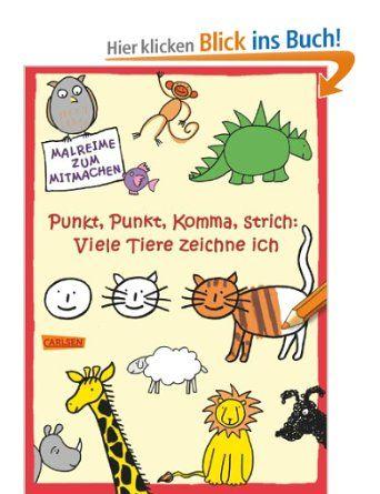 Punkt, Punkt, Komma, Strich: Viele Tiere zeichne ich: Amazon.de: Katja Mensing: Bücher