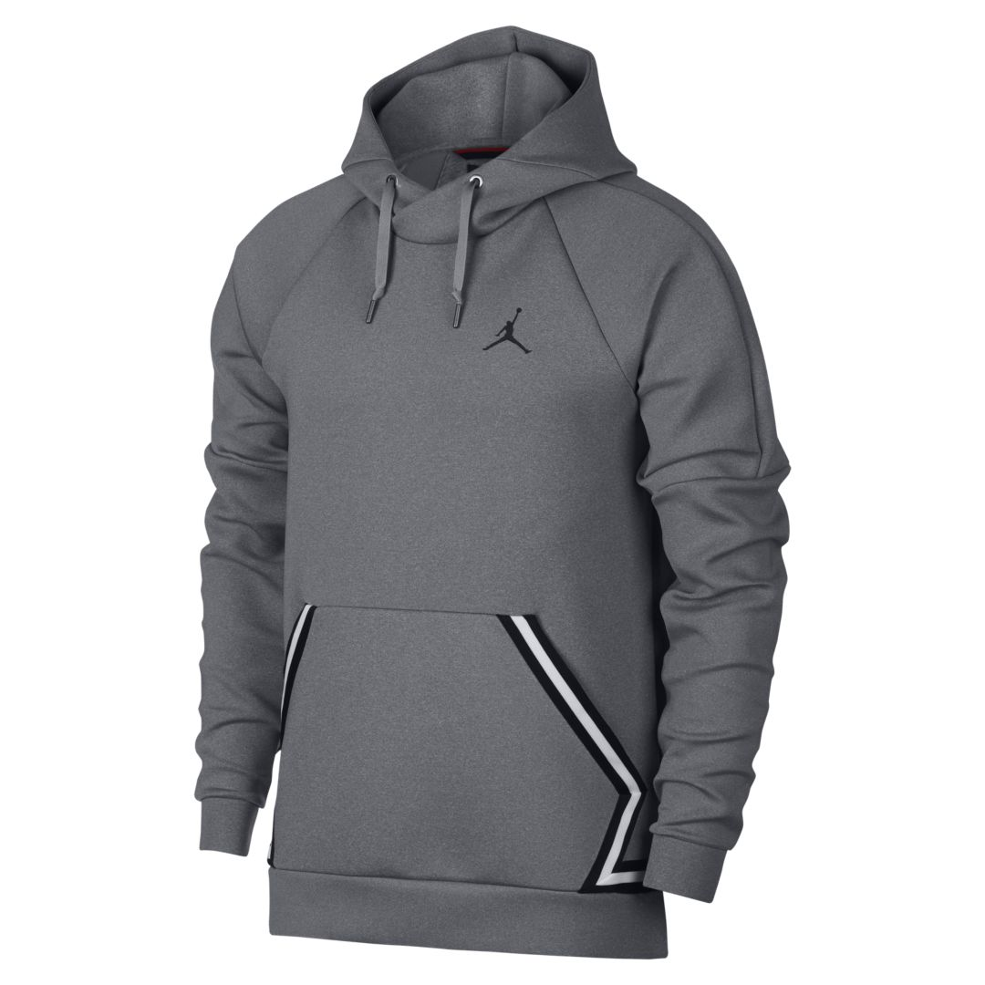 e7e5200f9592 Jordan Sportswear Flight Tech Diamond Men s Pullover Hoodie Size 3XL  (Carbon Heather)