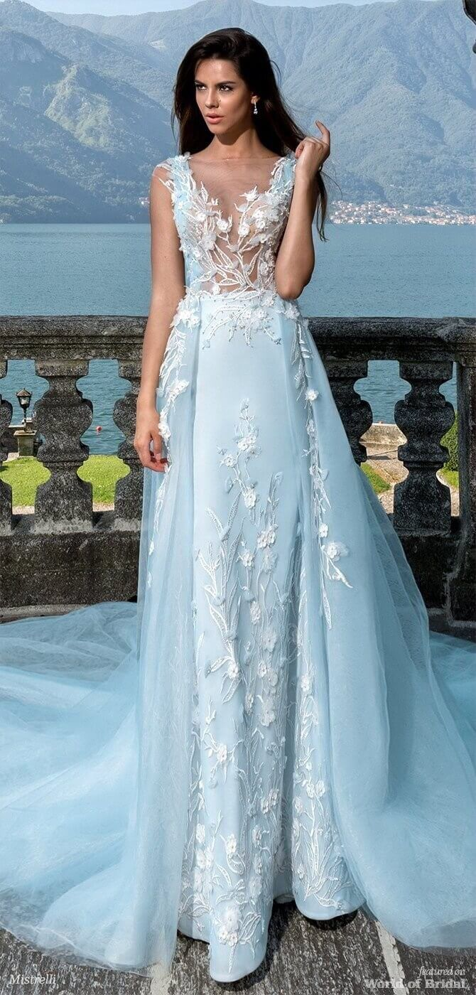 Mistrelli wedding dresses black pearl collection wedding