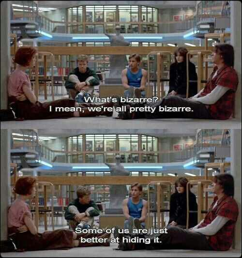 The Breakfast Club true life homie!!! :)