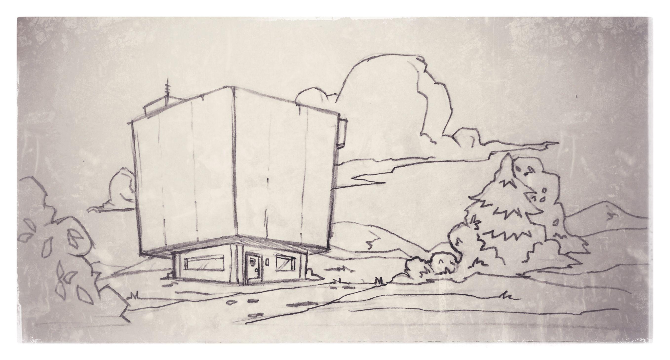 13 cartoon stylized animated background scene sketch modern