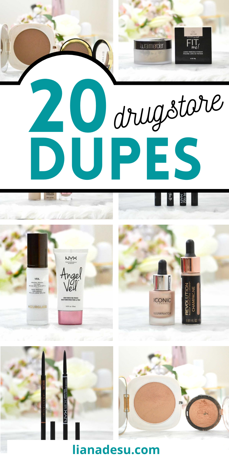 Best Drugstore Makeup Dupes The Ultimate List liana