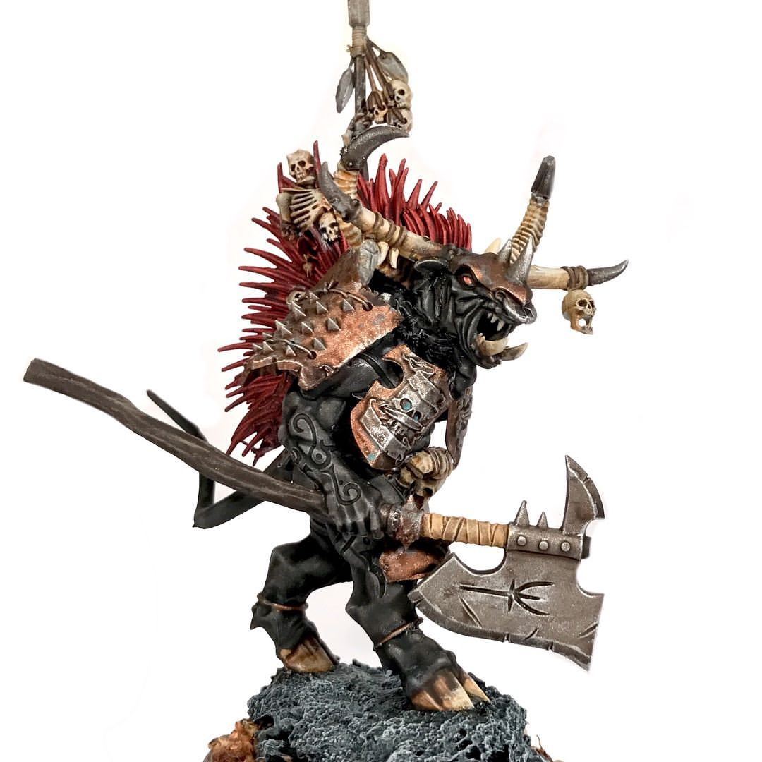 My Doom Bull Is Ready To Lead The Warherd Ageofsigmar Warmongers